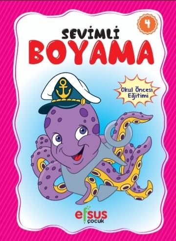 Sevimli Boyama 4